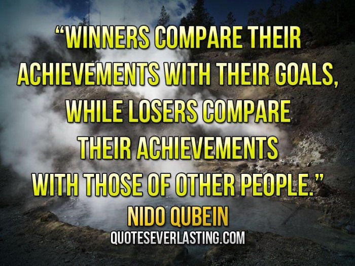 Nido Qubein Quote Winners and Losers