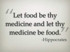 Hippocrates food be they medicine quote