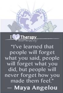 Best Maya Angelou Quote on feelings