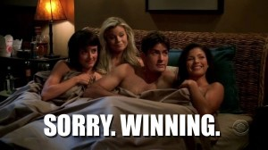 Charlie Sheen Winning Quote