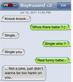 Relationship texting