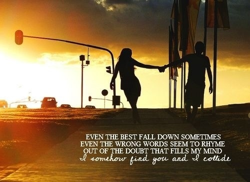 even the best fall down