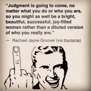 Judgement Always Comes