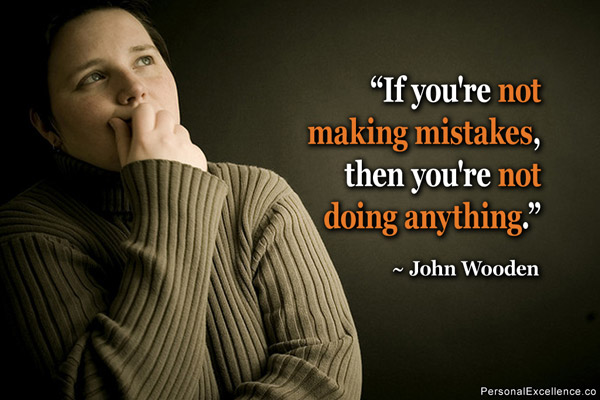 Making Mistakes Quote