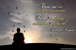 No Ordinary Moments quote