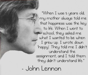 John Lennon Quotes assignment