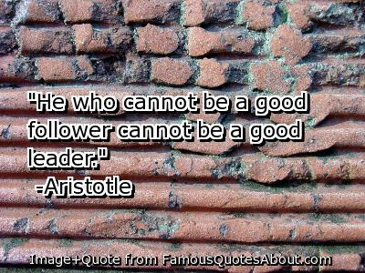 Best Aristotle Quote Leadership