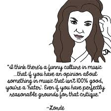 best lorde quote