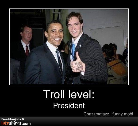 presidential trolling ron paul