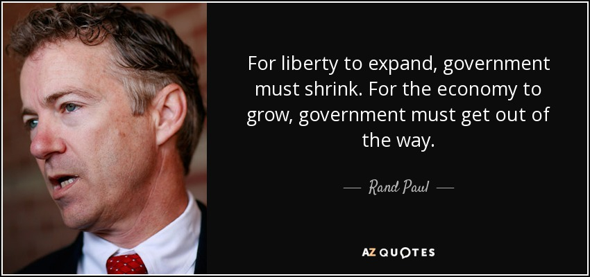 rand paul shrink government