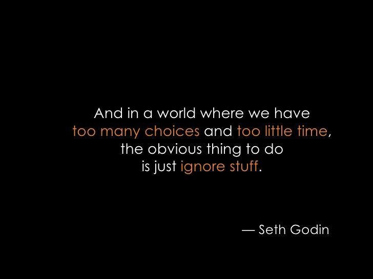 best seth godin quote