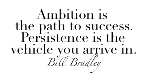 Bill Bradley Ambition Quote and Success