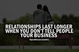 Relationship and Business Quote